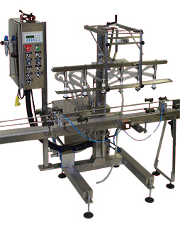 Auto Straight Line Liquid Filling Machine